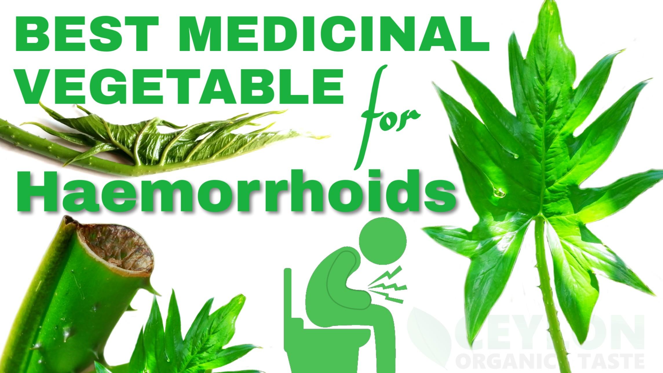 Best Medicinal Vegetable for haemorrhoids