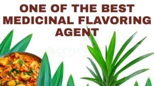 one of the best medicinal flavoring agent in kitchen Ceylonorganictaste